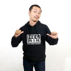 MEGWIN TVオリジナルパーカー 黒