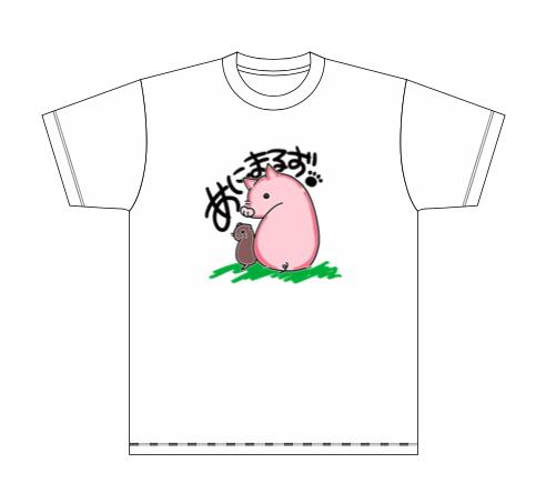 つくねとしゃもじTシャツ