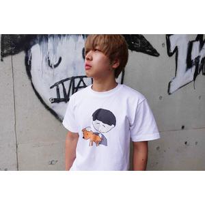 コロちゃんと和むタチバナさんTシャツ