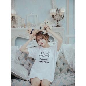 ぽんずTシャツ WHITE