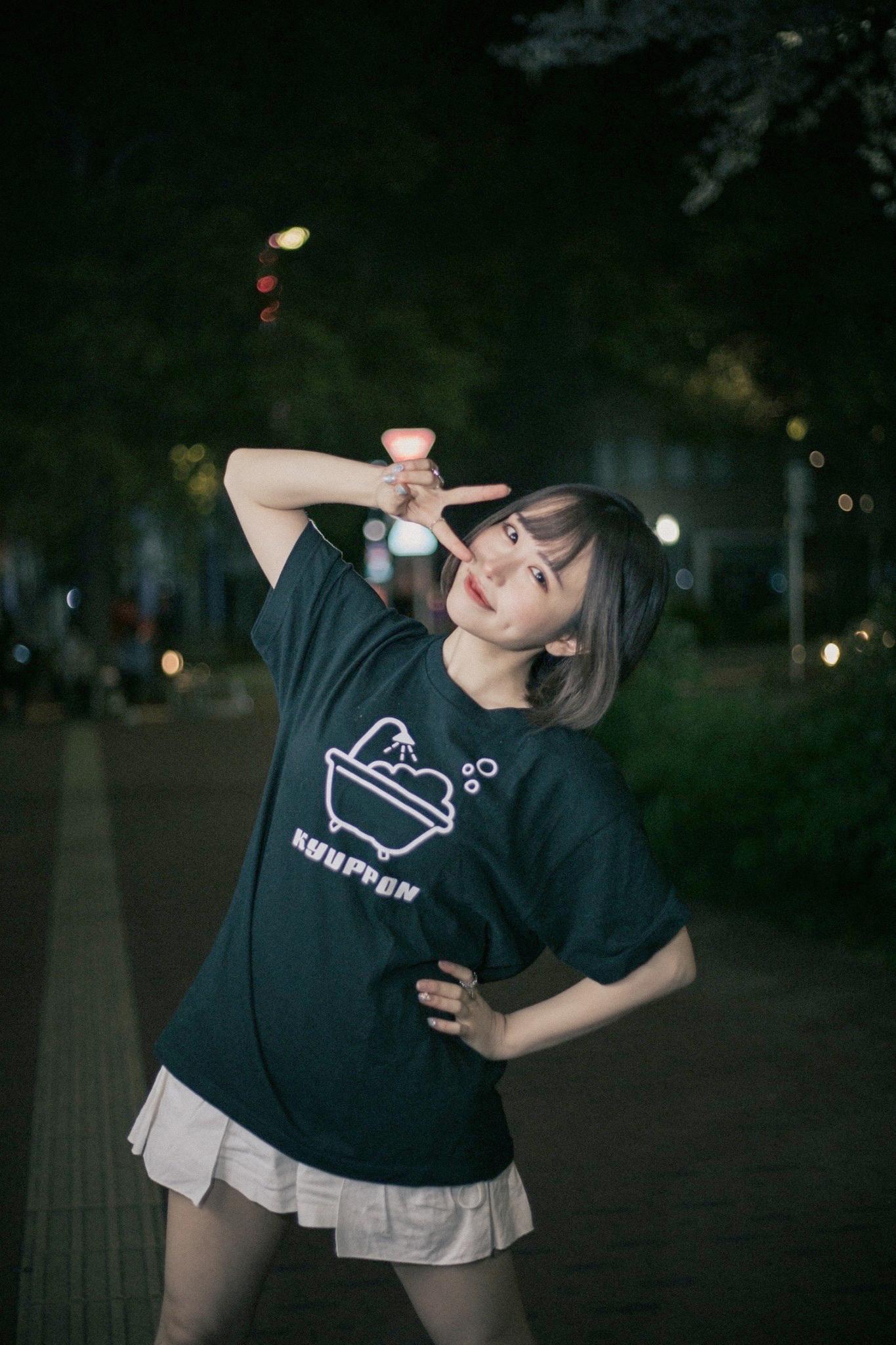 ぽんずTシャツ BLACK